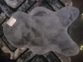 Flux rug grey