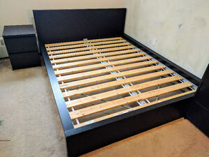MALM Ikea Queen-sized Bed - Good Condition - $135 each