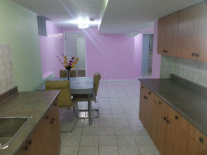 One Bedroom Basement Apartment in Markham.