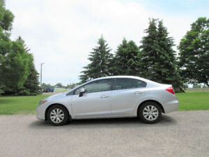 2012 Honda Civic LX Sedan- Automatic w/ 125K!! Just $55 per week