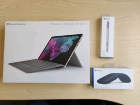 Microsoft Surface Pro 6 Boxed - pen, mouse, keyboard case
