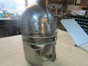 STAINLESS STEEL 16TH CENTURY REPRO.JOLSTING HELMET Peterborough Peterborough Area image 2