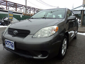2007 Toyota Matrix XR Wagon/clean carproof/Certified