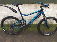 Giant stance full suspension excellent condition downhill mountain bike
