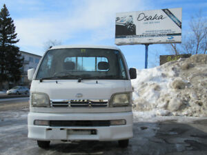 RHD 2002 Daihatsu Hijet Kei Car mini truck Suzuki Carry