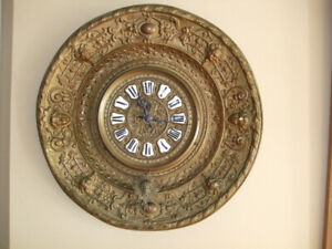 French Wall Clock c 1890