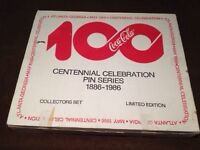 Coca-cola pin set