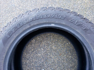 AT 285/55 R20 Winter Tires As New