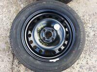 4x100 Full Size Steel Wheel 205/55/r16