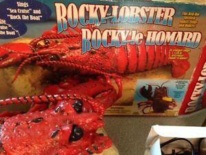 Gemmy Rocky the Singing Lobster Sings Sea Cruise Rock the Boat Gatineau Ottawa / Gatineau Area image 1