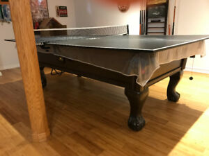 Pool/Ping Pong Table