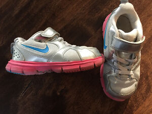 Girls Nike running shoe
