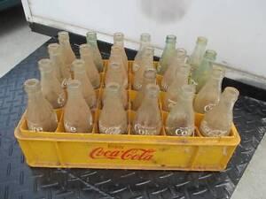 vintage coke crate & bottles Devonport Devonport Area Preview