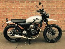 NEW Hanway Scrambler 125 EFI learner legal, own this bike for only £10.53 a week