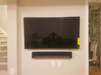 TV Mounting ~ Camera Installation ~ Concealing Wires