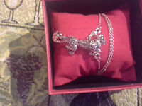 Or rose gold 18k leopard   CRYSTAL AAA NEW