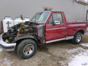 1992 ford f150 parts truck