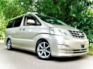 2005 Toyota Alphard MZ-G Edition 2005 Luxury Leather Edition MZ-G Leather Edition Gold Automatic West Ryde Ryde Area Preview