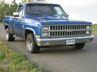 1981 Chevrolet short box pickup 1500 - Turbo-propane setup