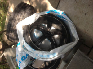 Set of 4 Boss Rims and 225/35/20 Tires