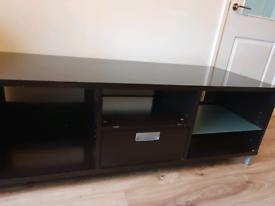 TV Cabinet- Brown/Black