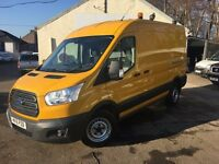 Ford Transit 350 L2 H2 125PS FWD (yellow) 2016