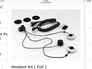 Motorcycle Headset