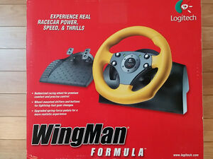 Logitech Wingman PC Racing Wheel Controller USB