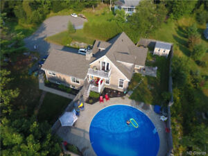 Very Unique Home w/View of Kennebecasis River !