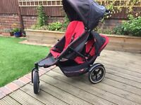 Phil and Ted's double buggy