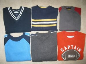 Boys Sweaters Size 5 (6 Sweaters)
