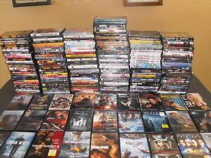 DVD a vendre 5 dollars chaques ou 5 pour 20