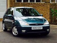 2003 FORD FOCUS 1.6 ZETEC*5 DOOR*ONLY 71,000 MILES*FULL SERVICE HISTORY*MOT TILL END OF MARCH 2017*