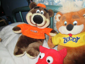 """15"""" A&W Advertising Bear Collectible Hard-To-Find Stuffie Toy"""
