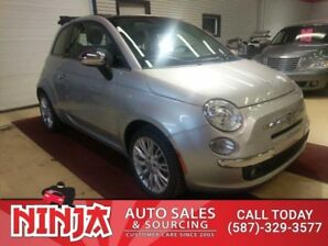 2013 Fiat 500 500C Convertible Lounge Leather Seats