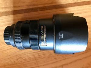Nikon.  17/55 F 2.8 AF.S   G. ED