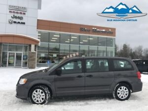 2015 Dodge Grand Caravan Canada Value Package  ACCIDENT FREE, LO