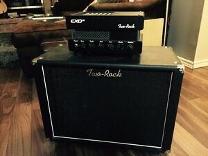 Two rock EXO-15 with 1x12 two rock cabinet