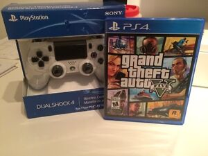 PS4 Dualshock 4 And GTA 5