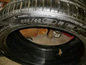 2 New Michelin Pilot Sport Run Flat 225/40/18