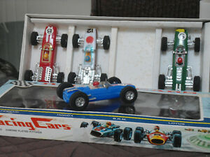 SET OF 4 RACING CARS CIRCA LATE 50'S EARLY 60'S Cambridge Kitchener Area image 2