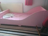 Toddlers sleigh bed