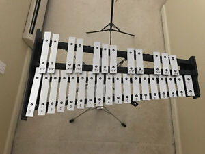 Beginner Percussion Set-up (Xylophone & Snaredrum)