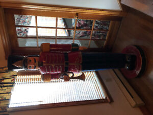 7 Foot Tall Christmas Toy Soldier
