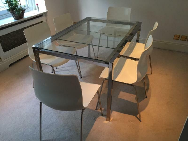 Ikea 39 S Dining Table And 6 Chairs In Chelsea London