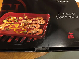 Emile Henry Flame Top Plancha for BBQ