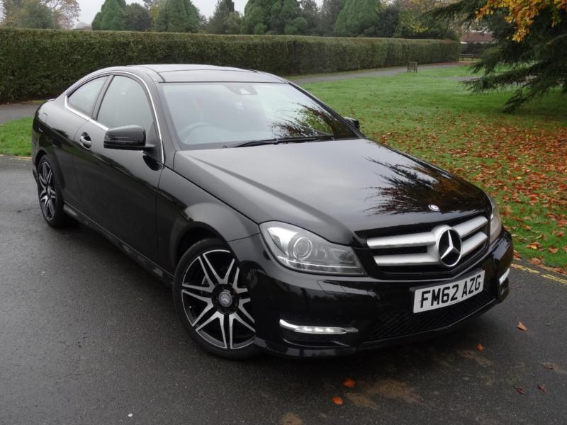 mercedes c class c220 cdi blueefficiency amg sport plus coupe 2013 62 in ilford london gumtree. Black Bedroom Furniture Sets. Home Design Ideas