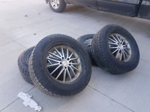 245/60/18 Tire and rim