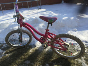 "Girls 20"" bike on sale"