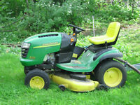 Looking for lawn tractor that works